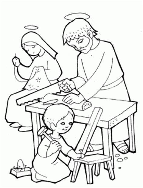 imagenes de jesus jose y maria para colorear imagenes de la sagrada familia para colorear imagui