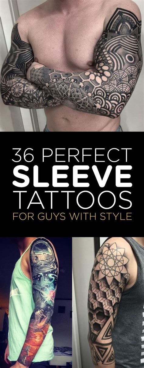 tattoo ideas for men sleeves 36 sleeve tattoos for guys with style sleeve
