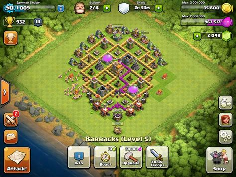 clash of clans layout strategy level 6 clash of clans town hall level 7 defense strategy