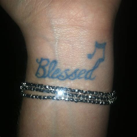 blessed wrist tattoos blessed wrist tattoos designs ideas and meaning tattoos