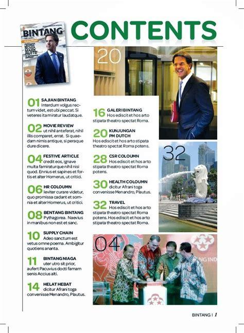 contoh desain isi majalah majalah dagu komunika
