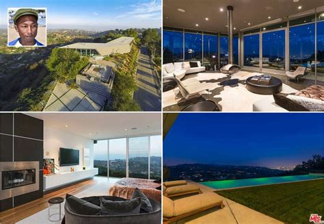 pharrell house check out pharrell s modern la home picture in photos