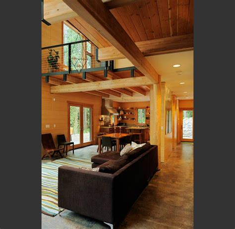 mountain home interior design interior design showcase wooden clad mountain house