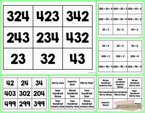 Printable Comparing Numbers Games | number games comparing numbers and ordering numbers on