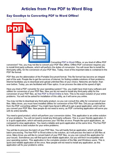 converter pdf to word offline say goodbye to converting pdf to word offline free pdf to