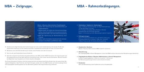 Basf Mba Leadership Development Programç by Steinbeis Mba Brosch 252 Re