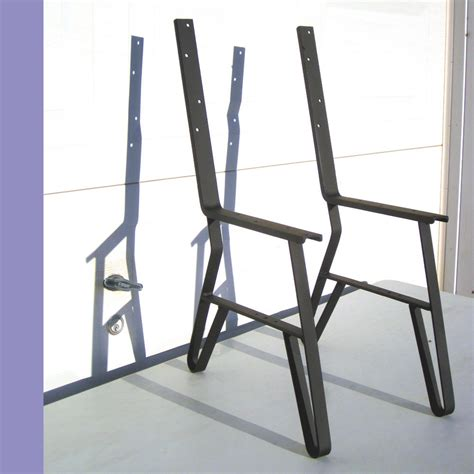 steel park bench legs logan s order 9 single park bench flat iron metal legs