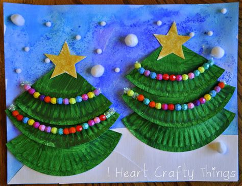 Paper Plate Craft Work - tree activities crafts and ideas for