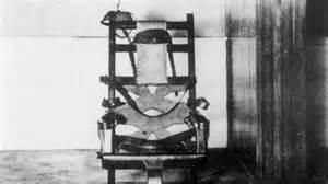 elektrische stuhl schon gewusst der elektrische stuhl wurde einem