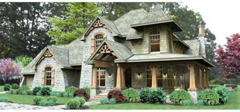 Craftsman 2 Story Craftsman Cottage Style Houses Pinterest | unique 3 story craftsman house plans new home plans design