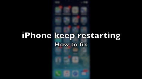 iphone  restarting   fix youtube