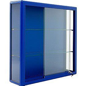 Wall Display Cabinets With Glass Doors Wall Mounted Glass Display Cabinet With Sliding Door Co Uk Office Products