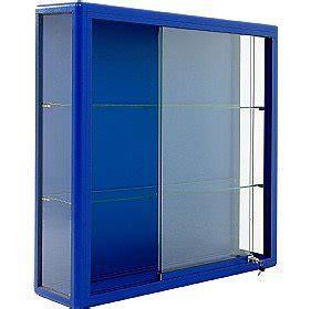 Sliding Door Display Cabinet Wall Mounted Glass Display Cabinet With Sliding Door Co Uk Office Products