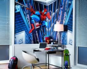 Ideas cool spiderman bedroom decorating ideas bedroom design