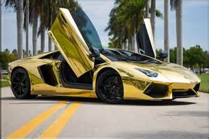 Lamborghini One Of A Gold Lamborghini Miami Most Expensive One New