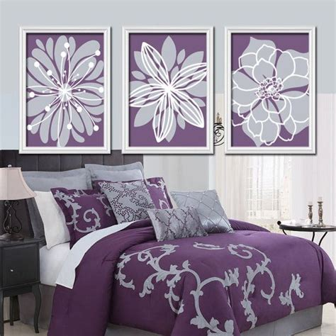 purple wall decor for bedrooms purple flower wall art flower burst baby girl nursery 19572 | f75c9145b8c59424937075a6c5126e1d