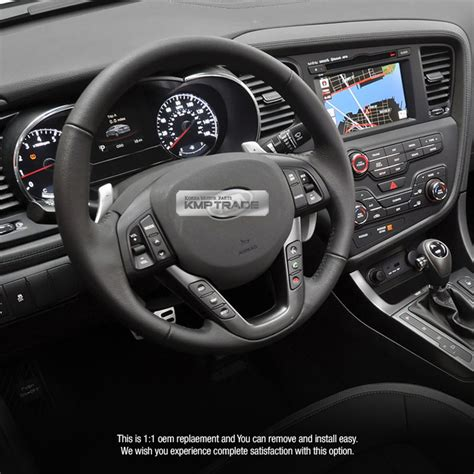 2013 Kia Optima Steering Problems Oem Leather Steering Wheel Handle Remote Kit For