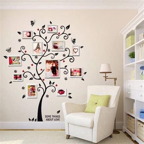 cmin  diy removable photo tree pvc wall