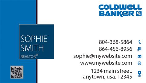 Coldwell Banker Business Cards Template by Coldwell Banker Business Cards 08 Coldwell Banker
