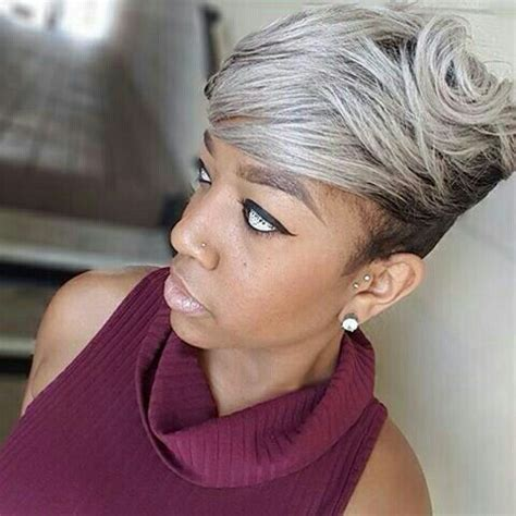 straight wiry hair hair cuts 50 shades of gray short hair cuts styles pinterest