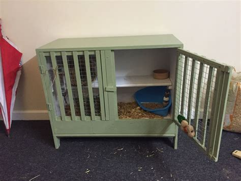 Handmade Rabbit Hutches For Sale - indoor shed house rabbit guinea pig handmade hutch