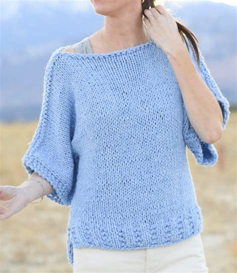 easy sweater knitting pattern easy knitting sweater patterns for beginners crochet and