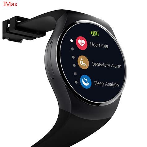 Kingwear Kw18 Smartwatch Bluetooth Ios Android Sim Card Slot Hitam smartch kw18 smart sim mtk2502 rate monitor