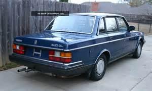 1986 Volvo 240 Dl Volvo 240 Dl 1986