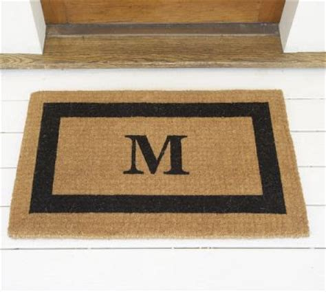 Copy Cat Chic Personalized Doormats Monogram Front Door Mat
