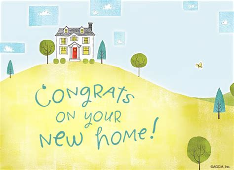 new house congratulations new home postcard congratulations ecard american greetings