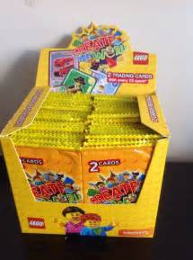 lego cards trading create the world sainsbury s 150 x 2pk