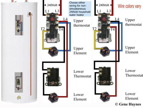 wiring a water heater diagram get free image about