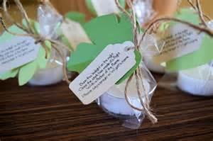 baby shower or wedding tea light candle poem favor by ofallkinds