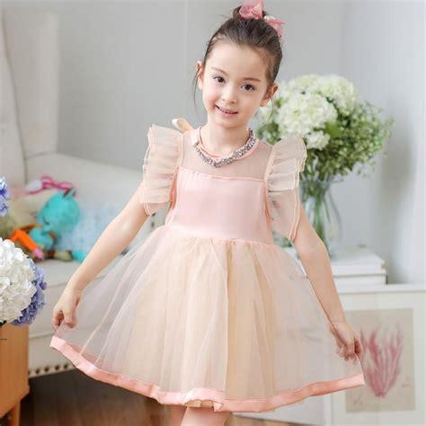 Baju Korea Style Kra 477 2018 2015 summer new lace dresses children