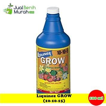 Grow 100 Ml Berkualitas liquinox grow 100ml jualbenihmurah