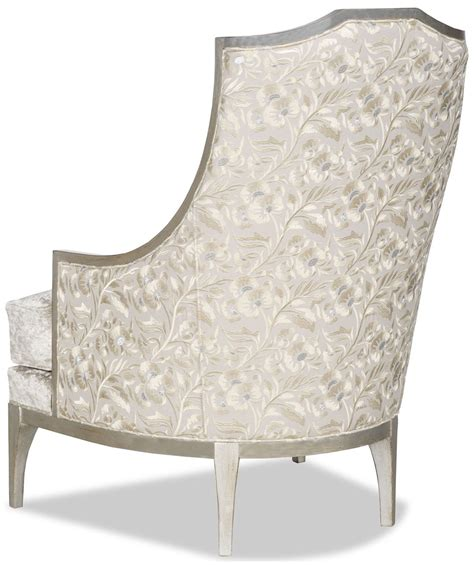 white fabric armchair armchair covered in a chic dove white fabric