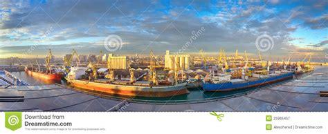 porto casablanca mattina al porto marittimo casablanca marocco