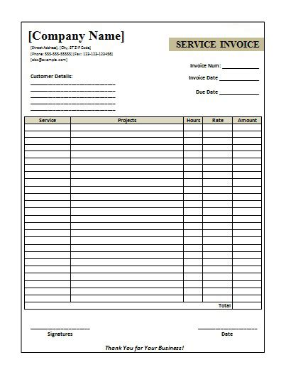 Download Invoice Template Word 2007 Invoice Exle Invoice Template Word 2007