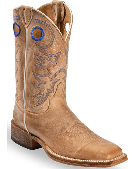 square toe mens cowboy boots justin s bent rail cowboy boots square toe country