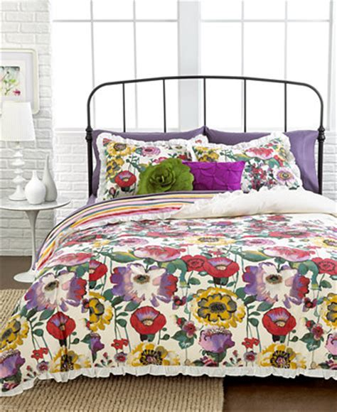 watercolor comforter closeout watercolor floral 3 piece full queen comforter