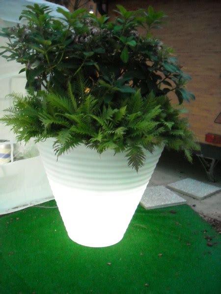 fioriere luminose lada vaso led