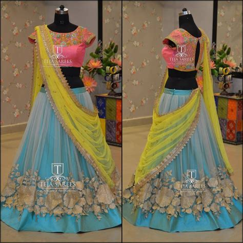120 best Half saree Designs images on Pinterest   India
