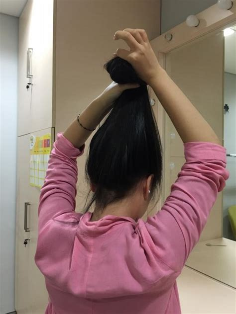 tutorial blow rambut dengan catok rambut indah bervolume tanpa blow hanya dengan jepitan