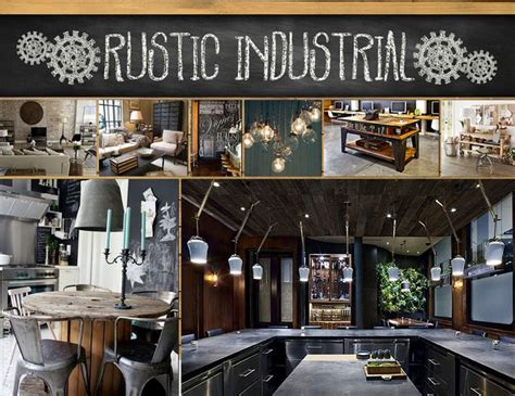 rustic industrial new home d 233 cor trend for 2013