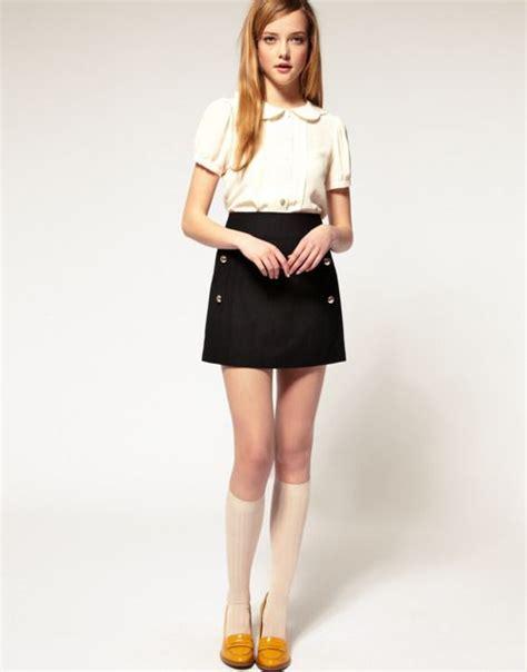 Rok Sale Diskon Murah Flare Skirt Korea Cotton A Line Dress Pakaian 13 best school look images on school uniforms school