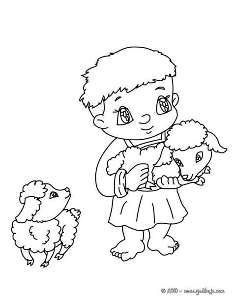 dibujo de vidriera de la virgen mar繝箝a con jes繝篌s para dibujos para colorear un ni 241 o pastor con corderos es