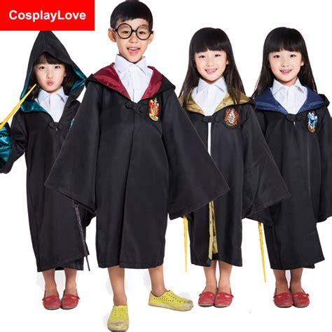 Jubah Harry Potter Slytherin Size S stock cheap and kid harry hufflepuff slytherin