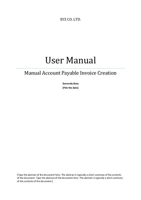sle oracle payable user manual