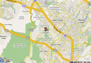 map of laguna california map of ayres hotel laguna woods laguna