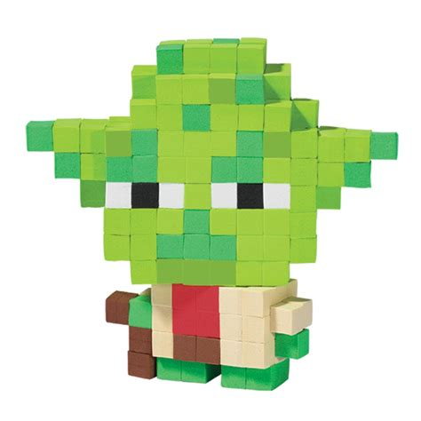 pixel wars spin master star wars pixel pops yoda
